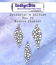 IndigoBlu Collectors Edition 39 Rubber Stamp - Bubble Cluster (IND0626)