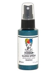 Dina Wakley MEdia Media Gloss Spray Marine 56ml (MDO68525)
