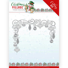 Yvonne Creations Christmas Village Christmas Baubles Die (YCD10211)