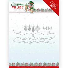 Yvonne Creations Christmas Village Christmas Lights Die (YCD10212)