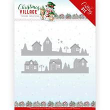 Yvonne Creations Christmas Village House Scene Die (YCD10213)