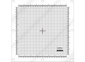 Crafter's Companion 8x8 inch Stamping Platform & Magnetic Base (CC-TOOL-STPLATMB)