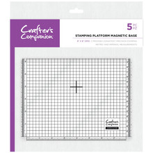 Crafter's Companion 8x8 inch Stamping Platform Magnetic Base (CC-TOOL-MAGBASE)