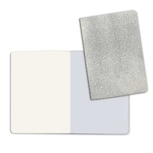 Stamperia Notebook A5 with Stone Paper Cover Silver (KC85RS)
