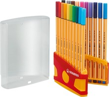 Stabilo Pen 88 Fineliner Color Parade (20 pcs) (8820-031)