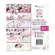 Prima Marketing Inc Pretty Mosaic 6x6 Inch Paper Pad (642174)