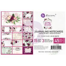 Prima Marketing Inc Pretty Mosaic 4x6 Inch Journaling Cards (642204)