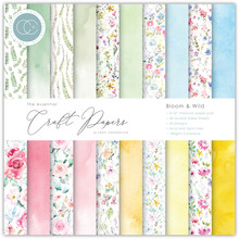 Craft Consortium Essential Craft Papers 6x6 Inch Paper Pad Bloom & Wild (CCEPAD009B)