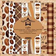 Paper Favourites Coffee 12x12 Inch Paper Pack (PF338)
