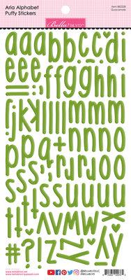 Bella BLVD Guacamole Aria Alpha Puffy Stickers (BB2228)