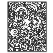 Sizzix Thinlits Alterations Die Doodle Art #2(664432)