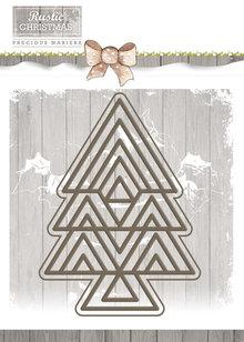 Precious Marieke Rustic Christmas Rustic Tree Die (PM10040)