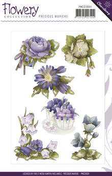 Precious Marieke Flowery Collection Die (PMCS10011)
