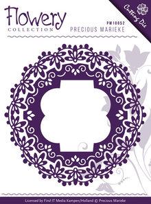 Precious Marieke Flowery Collection Fleur-De-Lis Frames Die (PM10059)