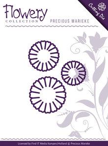 Precious Marieke Flowery Collection Daisy Trio Die (PM10063)