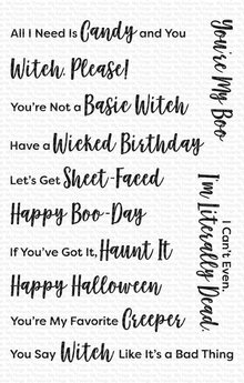 My Favorite Things Sassy Pants Spooktacular Clear Stamps (CS-496)
