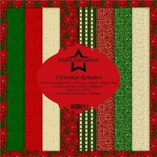 Paper Favourites Christmas Romance 12x12 Inch Paper Pack (PF342)