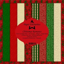 Paper Favourites Christmas Romance 6x6 Inch Paper Pack (PF142)