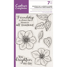 Crafter's Companion Brighten My Day Clear Stamps (CC-STP-BRMD)