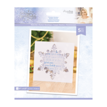 Crafter's Companion Glittering Snowflakes Frosted Window Die (S-GS-MD-FRWI)