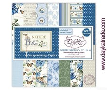 Dayka Nature in Blue 8x8 Inch Paper Pack (SCP-1030)