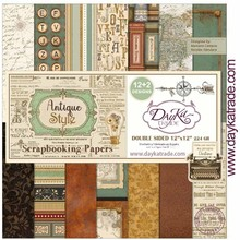 Dayka Antique Style 12x12 Inch Paper Pack (SCP-3031)