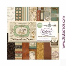 Dayka Antique Style 8x8 Inch Paper Pack (SCP-1031)