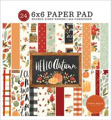 Carta Bella Hello Autumn 6x6 Inch Paper Pad (CBHEA122023)
