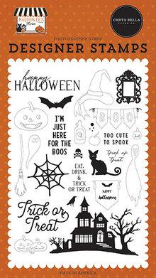 Carta Bella Haunted Night Clear Stamps (CBHM121046)