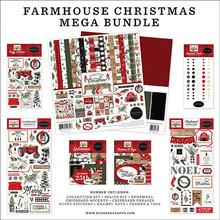Carta Bella Farmhouse Christmas Mega Bundle (CBFAC123050)