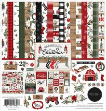 Carta Bella Farmhouse Christmas 12x12 Inch Collection Kit (CBFAC123016)