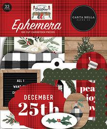 Carta Bella Farmhouse Christmas Ephemera (CBFAC123024)