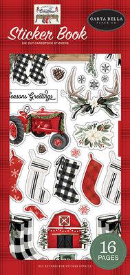 Carta Bella Farmhouse Christmas Sticker Book (CBFAC123029)