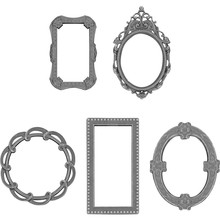 Idea-ology Tim Holtz Adornments Deco Frames (TH93792)