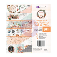 Prima Marketing Inc Pumpkin & Spice 6x6 Inch Paper Pad (647773)