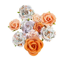 Prima Marketing Inc Pumpkin & Spice Flowers Orange Sunset (648404)