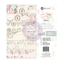 Prima Marketing Inc Sugar Cookie Christmas 8x8 Inch Paper Pad (996444)