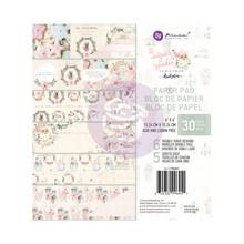 Prima Marketing Inc Sugar Cookie Christmas 6x6 Inch Paper Pad (996451)