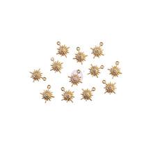 Prima Marketing Inc Sugar Cookie Christmas Metal Charms Snowflakes (996598)