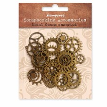 Stamperia Metal Gears Scrapbooking Accessories (sba406)