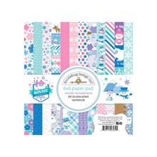Doodlebug Design Inc. Winter Wonderland 6x6 Inch Paper Pad (6532)