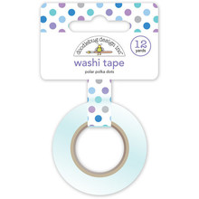 Doodlebug Design Inc. Polar Polka Dots Washi Tape (4981)