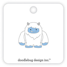 Doodlebug Design Inc. Yeti Collectible Pin (6487)