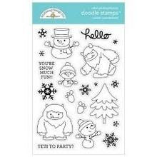 Doodlebug Design Inc. Winter Wonderland Doodle Stamps (6481)