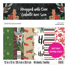 Craft Smith Wrapped with Care 12x12 Inch Paper Pad (MSE6458)