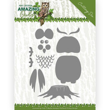 Amy Design Amazing Owls Build Up Owl Die (ADD10216)