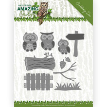 Amy Design Amazing Owls Owl Family Die (ADD10217)