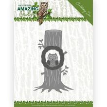Amy Design Amazing Owls Owl in Tree Die (ADD10218)