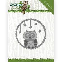 Amy Design Amazing Owls Night Owl Die (ADD10219)