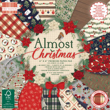 First Edition Almost Christmas 6x6 Inch Paper Pad (FEPAD235X20)